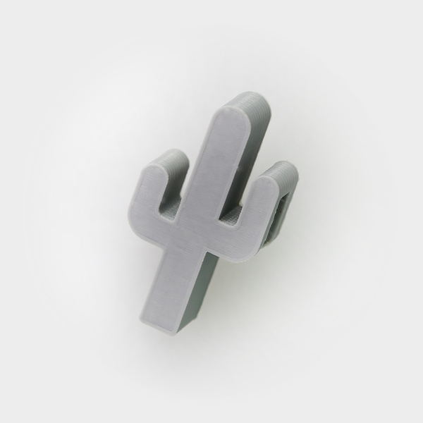 Medium Cactus Hook 3D Printing 26727