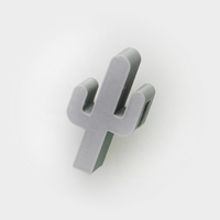 Small Cactus Hook 3D Printing 26727