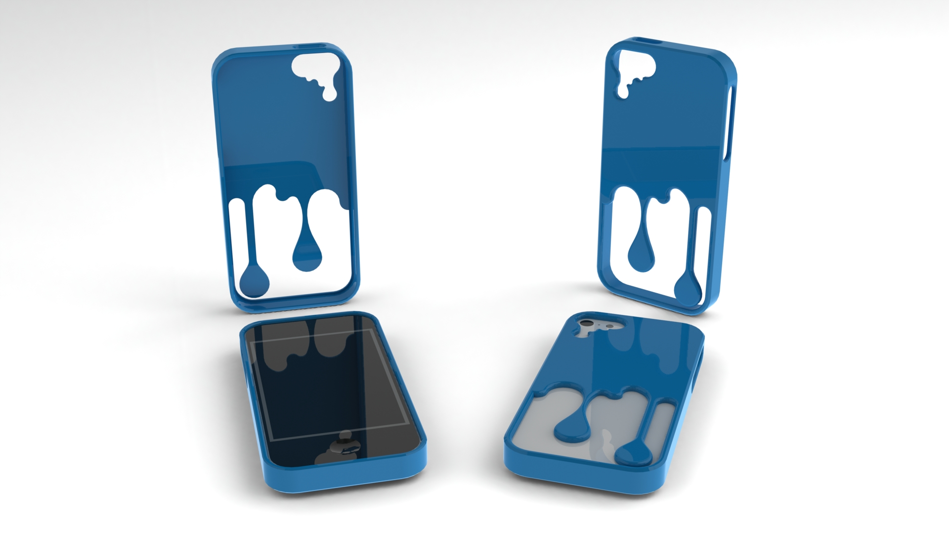 best website f20dd 844f2 Melting iPhone Case (iPhone 5) @ Pinshape