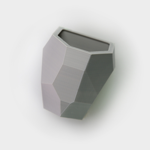 Faceted Modular Wall Planter 3D Print 26749