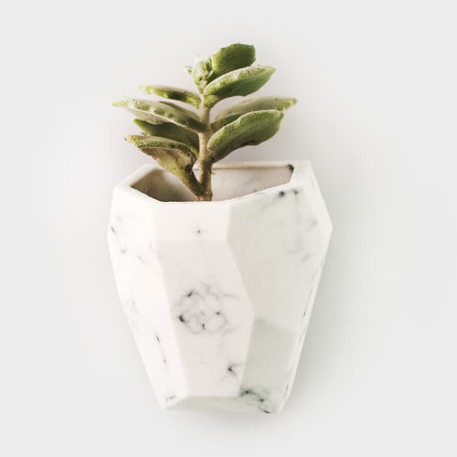 Faceted Modular Wall Planter 3D Print 26751