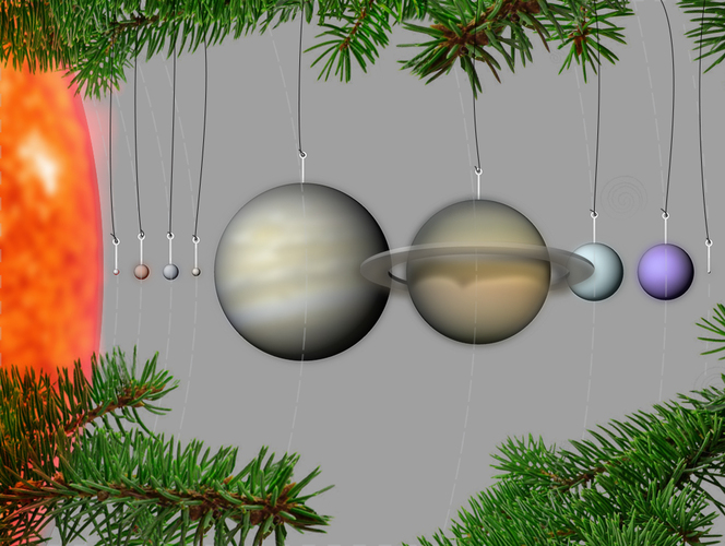 Our Planets - Ornaments 3D Print 26774