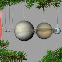 Small Our Planets - Ornaments 3D Printing 26774