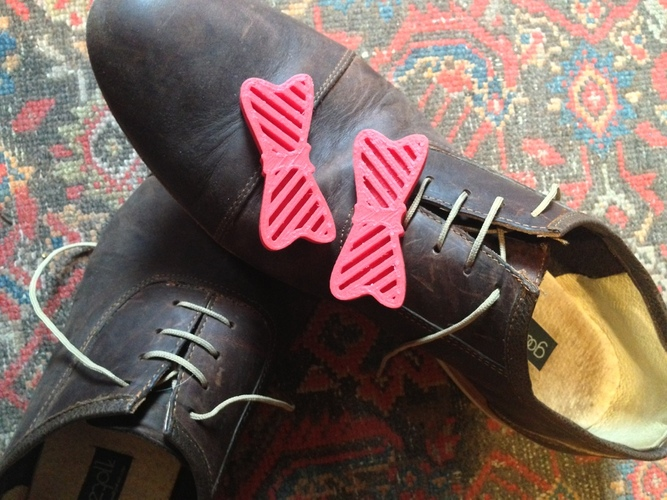 Bow Tie Your Shoes 3D Print 26789