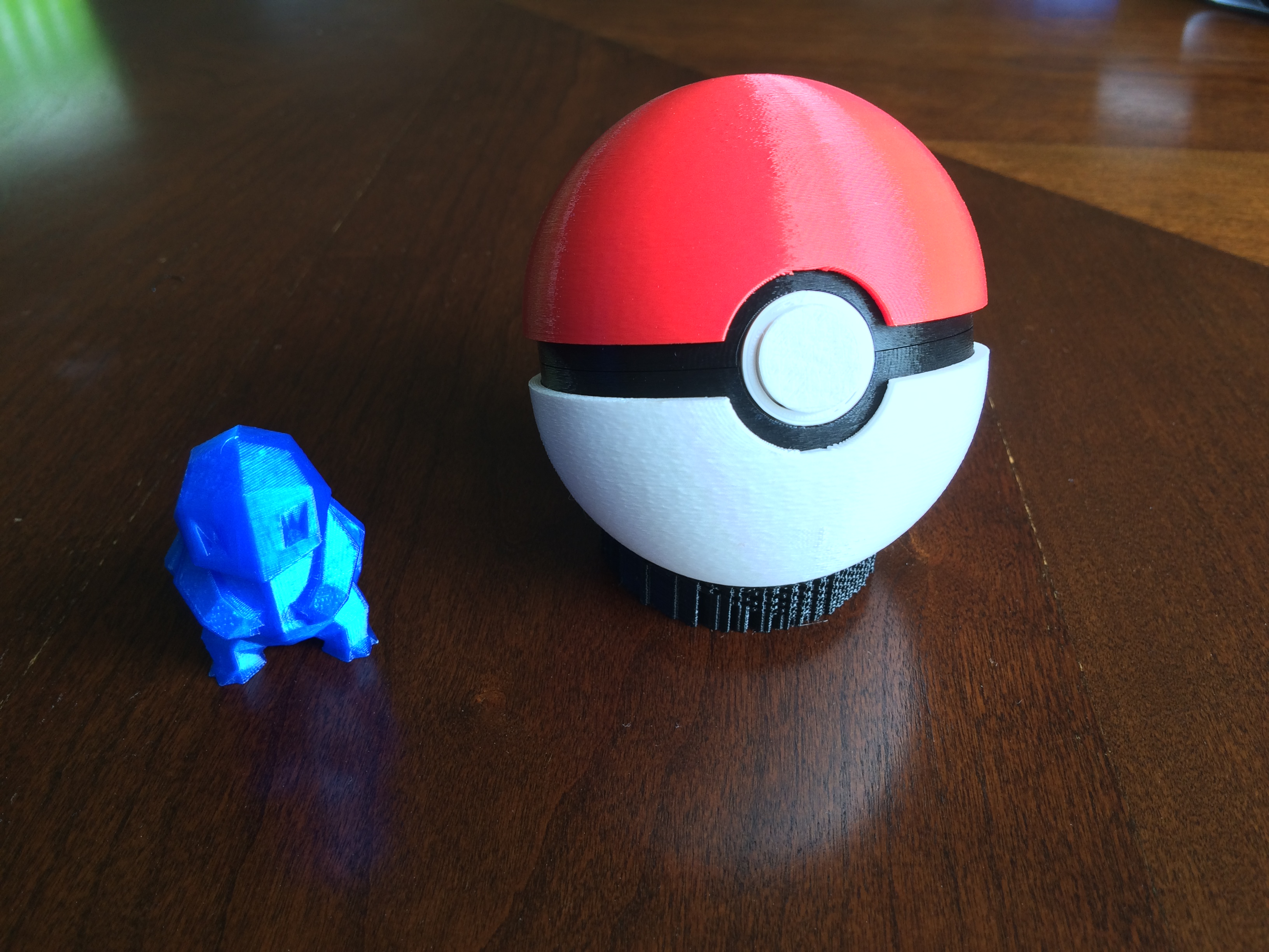 3D Printed Pokeball (opens and closes) by SpragClutch   Pinshape