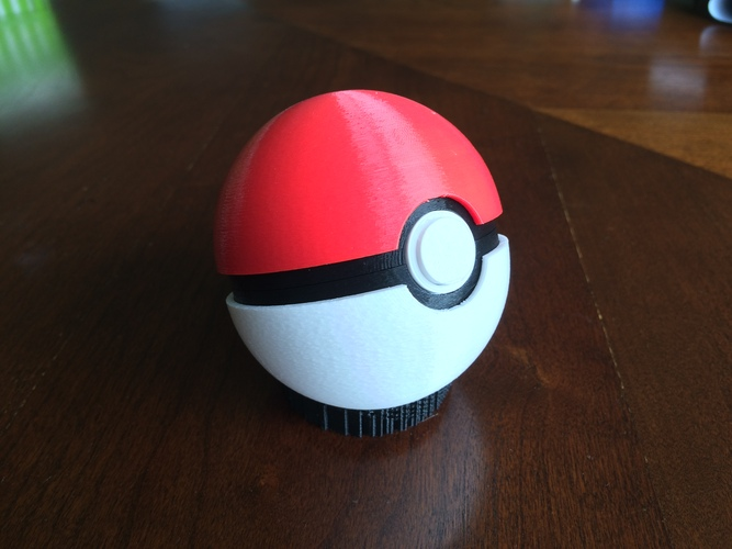 Pokeball (opens and closes) 3D Print 26857