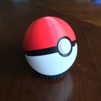 Small Pokeball (opens and closes) 3D Printing 26857