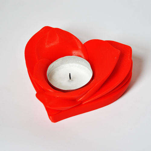 Romantic Tealight Holder 3D Print 26859