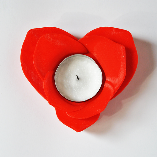 Romantic Tealight Holder 3D Print 26860