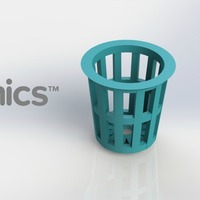 Small Planter - 3Dponics Cube System 3D Printing 26907