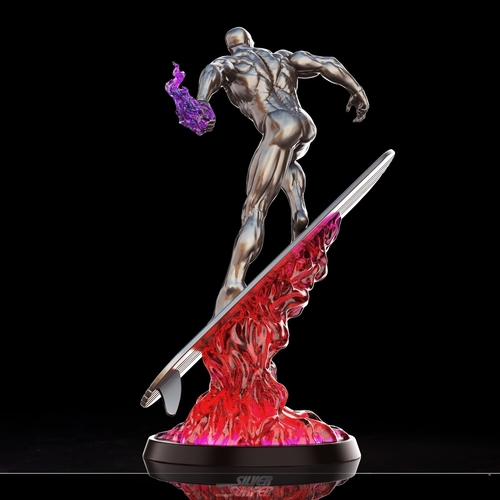 Silver Surfer in action - 3D print model 3D Print 269161