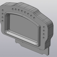 Small (rus) DIY Cosworth OICD (01P-032953-Plus)  replica dashboard 3D Printing 269222