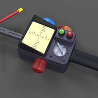 Small Psychokinetic Energy Meter from Ghostbusters 3D Printing 269476