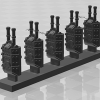 Small Canadian Turrets 3D Printing 269541