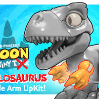 Small Boon the Tiny T. Rex: Allosaurus UpKit (Arms ONLY) 3DKitbash.com 3D Printing 26972