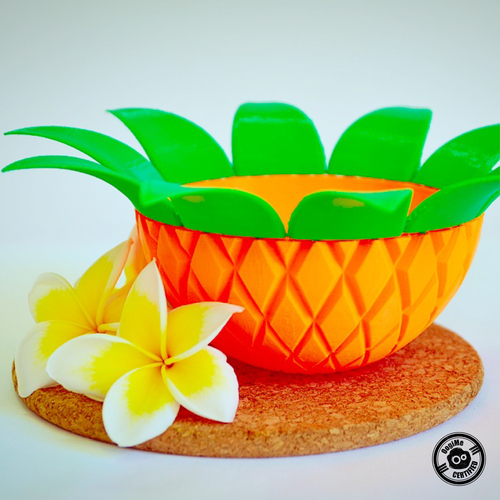 Pineapple Bowl 3D Print 26982