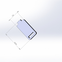 Small Cool battery labels 3D Printing 27017