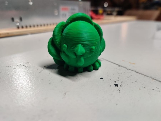 Cute Turkey - Kieran the Chibimal 3D Print 270230