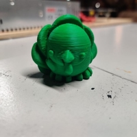 Small Cute Turkey - Kieran the Chibimal 3D Printing 270230