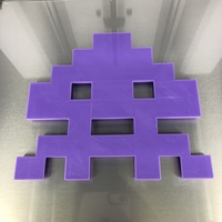Small Space invaders: squid 3D Printing 270323