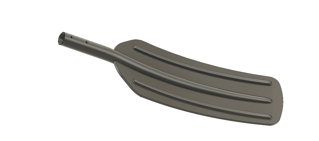 A real paddle blade for a rowing boat for 3d print cnc  3D Print 270467