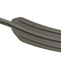 Small A real paddle blade for a rowing boat for 3d print cnc  3D Printing 270467