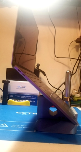 Macbook and Laptop Stand - No supports! Additional storage! 3D Print 270606