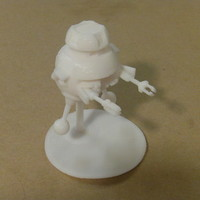 Small VINCENT from Disney's Black Hole Movie 3D Printing 27091