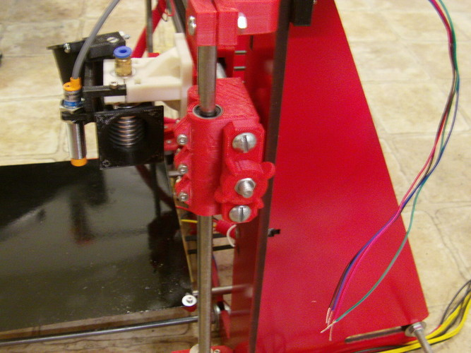 My New Prusa i3 Rework X and Y Belt tensioners 3D Print 27107