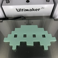 Small   Space invaders: shuttle 3D Printing 271709