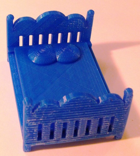 3d printed 3 inch doll furniture by pierrimus pinshape for Furniture 3d printing