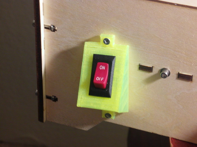 Switch Plate 3D Print 27178