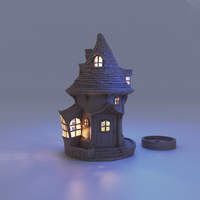 Small HOUSE LAMP 3D Printing 272217