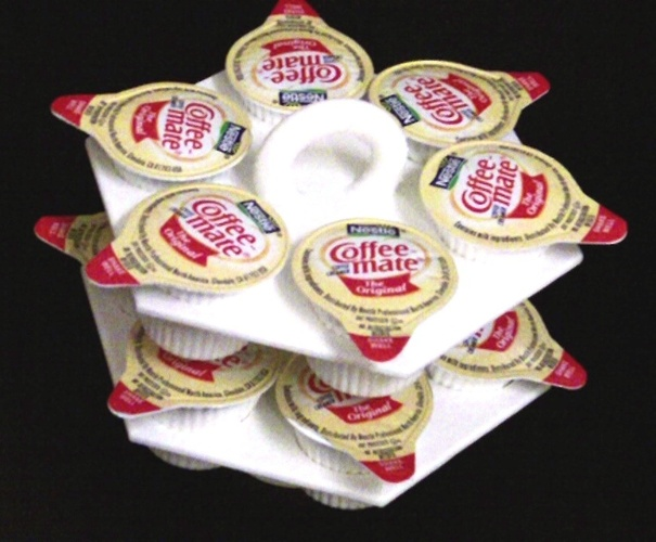Coffee Creamer Caddy 3D Print 27224