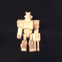 Small Ratchet Action Master Style Figure 3D Printing 27272