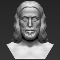 Small Jesus reconstruction based on Shroud of Turin 3D printing ready 3D Printing 272720