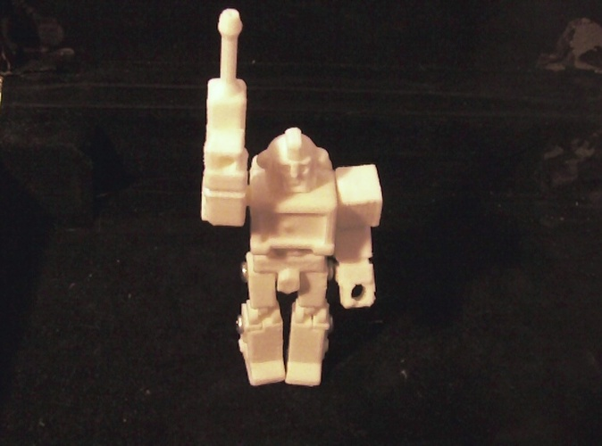 Ironhide Action Master Style Figure 3D Print 27278