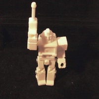 Small Ironhide Action Master Style Figure 3D Printing 27278
