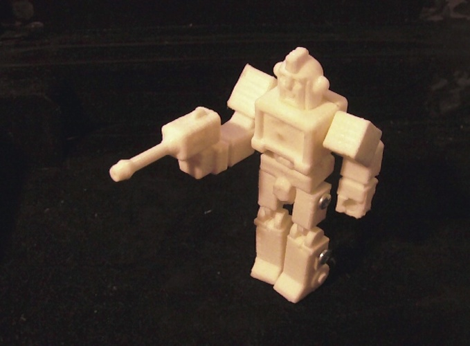 Ironhide Action Master Style Figure 3D Print 27279