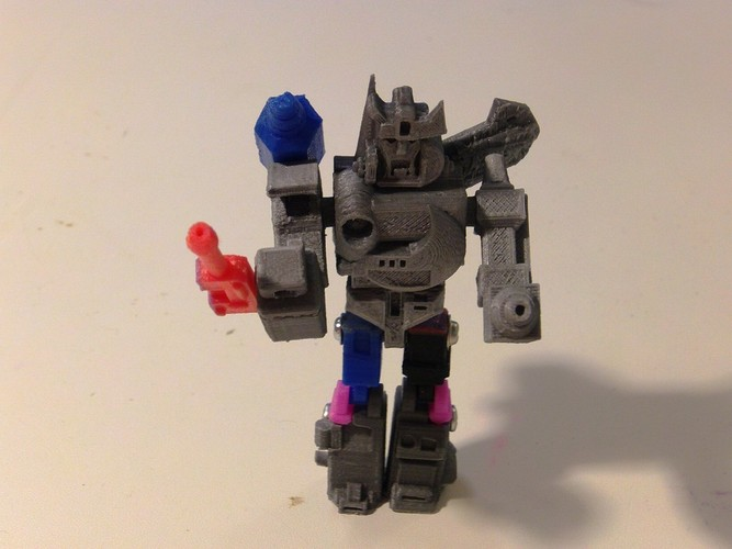Autobot X Action Master Style 3D Print 27282