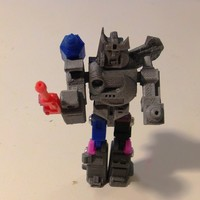Small Autobot X Action Master Style 3D Printing 27282