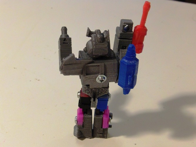 Autobot X Action Master Style 3D Print 27285