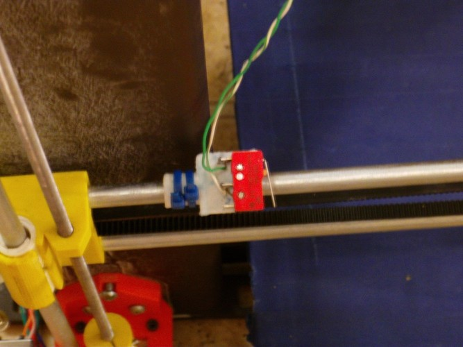 Minimalist Enstop Limit Switch Mount 3D Print 27296