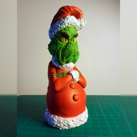 Small Grinch  Christmas tree ornament 3D Printing 273179