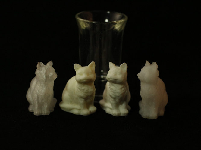 Adorable Kitties 3D Print 27349