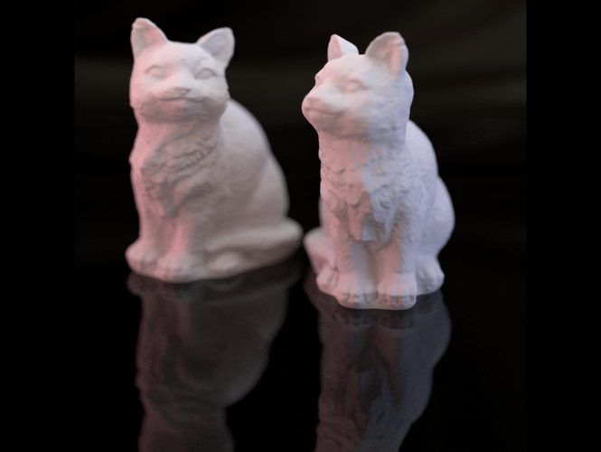 Adorable Kitties 3D Print 27350