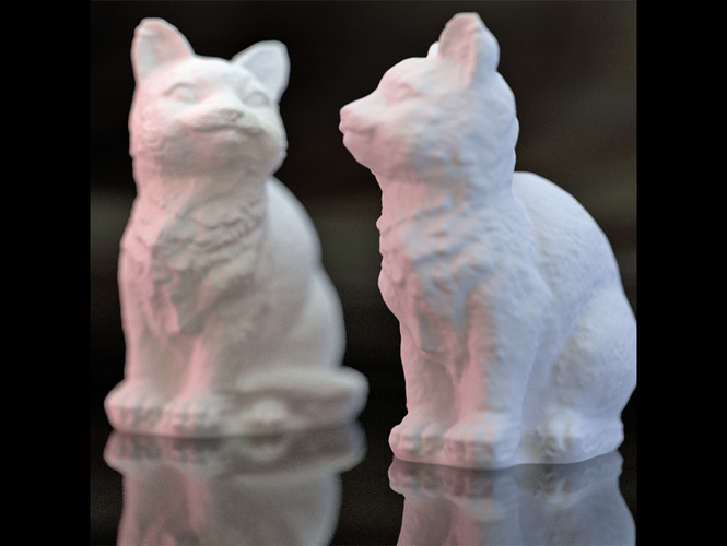 Adorable Kitties 3D Print 27352