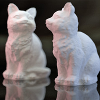 Small Adorable Kitties 3D Printing 27352