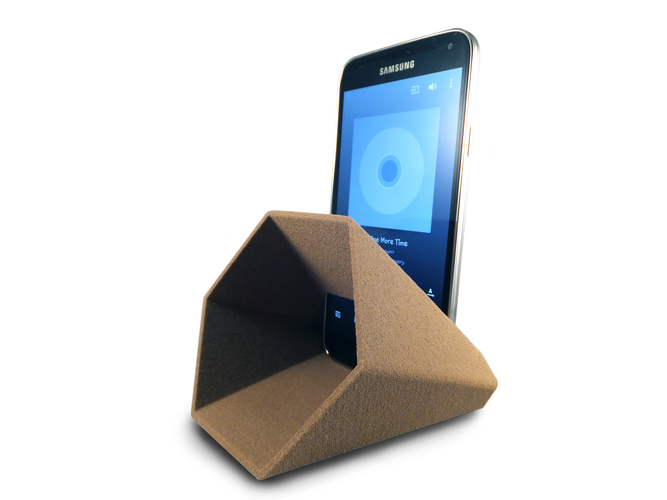 Hex Phone Sound Amplifier 3D Print 27403