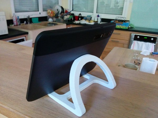 Medium Tablet stand 3D Printing 27411